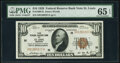 Small Size:Federal Reserve Bank Notes, Fr. 1860-H $10 1929 Federal Reserve Bank Note. PMG Gem Uncirculated 65 EPQ.. ...