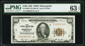 Small Size:Federal Reserve Bank Notes, Fr. 1890-I $100 1929 Federal Reserve Bank Note. PMG Choice Uncirculated 63 EPQ.. ...