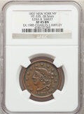Hard Times Tokens, 1837 Token Ezra B. Sweet, New York, NY., HT-335, R.3, XF45 NGC. Copper, thick planchet, plain edge, 28.5 mm. Ex: 1985 Charl...