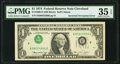 Error Notes:Inverted Third Printings, Inverted Third Printing Error Fr. 1908-D $1 1974 Federal Reserve Note. PMG Choice Very Fine 35 EPQ.. ...