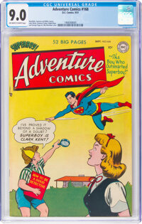 Adventure Comics #168 (DC, 1951) CGC VF/NM 9.0 Off-white to white pages