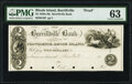 Obsoletes By State:Rhode Island, Burrillville, RI- Burrillville Bank $2 18__ G8 Proof PMG Choice Uncirculated 63, POCs.. ...