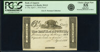 Augusta, GA- Bank of Augusta 6-1/4¢ Apr. 1, 1816 G2 Proof PCGS Apparent Choice About New 55