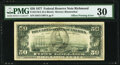 Error Notes:Offsets, Full Face to Back Offset Error Fr. 2119-E $50 1977 Federal Reserve Note. PMG Very Fine 30.. ...