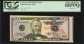 Error Notes:Miscellaneous Errors, Cutting Error Fr. 2131-G $50 2009 Federal Reserve Note. PCGS Choice About New 58PPQ.. ...
