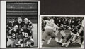Football Collectibles:Photos, 1970s Pittsburgh Steelers Vintage Photographs, Lot of 2.... (Total: 2 items)