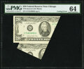 Error Notes:Miscellaneous Errors, Cutting Error Fr. 2075-G $20 1985 Federal Reserve Note. PMG Choice Uncirculated 64.. ...