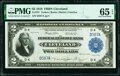 Low Serial Number D587A Fr. 757 $2 1918 Federal Reserve Bank Note PMG Gem Uncirculated 65 EPQ