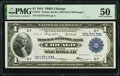 Large Size:Federal Reserve Bank Notes, Fr. 727 $1 1918 Federal Reserve Bank Note PMG About Uncirculated 50.. ...