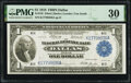 Large Size:Federal Reserve Bank Notes, Fr. 742 $1 1918 Federal Reserve Bank Note PMG Very Fine 30.. ...