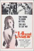 """Movie Posters:Adult, 14 and Under & Other Lot (Atlas, 1973). Folded, Very Fine-. One Sheets (2) (27"""" X 41""""/28"""" X 42""""). Adult.. ..."""
