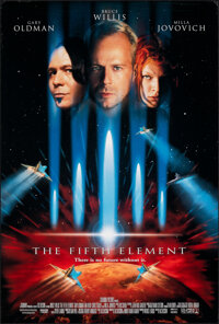 "The Fifth Element (Columbia, 1997). Rolled, Very Fine. One Sheet (26.5"" X 39.75"") DS. Science Fiction"