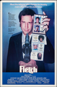 """Fletch (Universal, 1985). Rolled, Very Fine. One Sheet (27"""" X 41"""") SS. Comedy"""