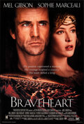 """Movie Posters:Action, Braveheart (Paramount, 1995). Rolled, Very Fine+. International One Sheet (27"""" X 40"""") DS Style C, & One Sheet (27"""" X 40"""") SS... (Total: 2 Items)"""