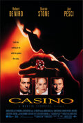 """Movie Posters:Crime, Casino (UIP, 1995). Rolled, Very Fine. International One Sheet (26.75"""" X 39.75"""") DS. Crime.. ..."""