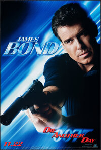 "Die Another Day (MGM, 2002). Rolled, Overall: Very Fine+. One Sheets (5) (27"" X 40"") SS Advance, 5 Character S..."
