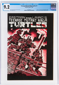 Teenage Mutant Ninja Turtles #1 (Mirage Studios, 1984) CGC NM- 9.2 Off-white to white pages