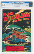 Golden Age (1938-1955):War, Don Winslow of the Navy #61 Crowley Copy Pedigree (Fawcett Publications, 1948) CGC NM+ 9.6 Off-white to white pages....