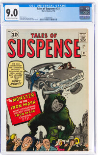 Tales of Suspense #31 (Marvel, 1962) CGC VF/NM 9.0 Off-white to white pages