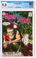 Silver Age (1956-1969):War, Our Army at War #88 (DC, 1959) CGC VF/NM 9.0 Cream to off-white pages....
