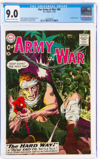 Our Army at War #88 (DC, 1959) CGC VF/NM 9.0 Cream to off-white pages