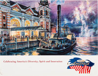 Disney's America Promotional Flyer (Walt Disney, c. 1990s)