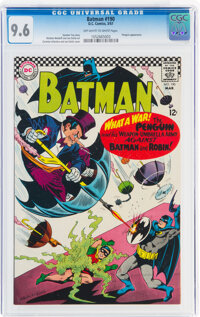 Batman #190 (DC, 1967) CGC NM+ 9.6 Off-white to white pages
