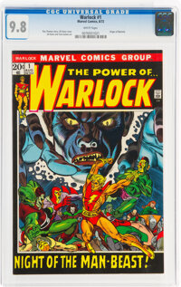 Warlock #1 (Marvel, 1972) CGC NM/MT 9.8 White pages