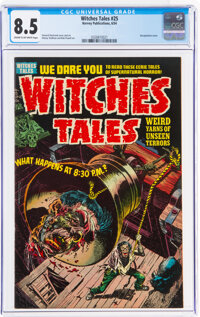 Witches Tales #25 (Harvey, 1954) CGC VF+ 8.5 Cream to off-white pages