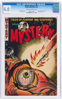 Mister Mystery #12 (Aragon, 1953) CGC VG 4.0 Cream to off-white pages