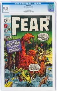 Fear #1 (Marvel, 1970) CGC NM/MT 9.8 White pages