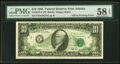 Error Notes:Offsets, Back to Front Offset Printing Error. Fr. 2027-F $10 1985 Federal Reserve Note. PMG Choice About Unc 58 EPQ.. ...