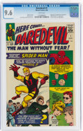 Silver Age (1956-1969):Superhero, Daredevil #1 (Marvel, 1964) CGC NM+ 9.6 White pages....