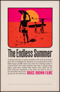 """Movie Posters:Sports, The Endless Summer (Bruce Brown Films, 1965). Rolled, Very Fine/Near Mint. Special Poster (11"""" X 17"""") John Van Hamersveld Ar..."""