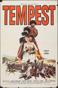 "Tempest & Other Lot (Paramount, 1959). Folded, Fine/Very Fine. One Sheets (3) (27"" X 41""). Foreign"