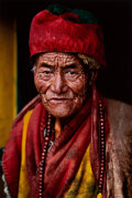 Photographs, Steve McCurry (American, 1950). Monk at Jokhang Temple, Lhasa, Tibet, 2000. Dye bleach, printed 2007. 21-1/4 x 14-1/4 in...