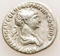 Ancients:Roman Imperial, Ancients: Trajan (AD 98-117). AR denarius (20mm, 3.21 gm, 6h). Choice Fine. ...