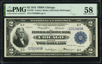 Fr. 765 $2 1918 Federal Reserve Bank Note PMG Choice About Unc 58