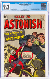Tales to Astonish #35 (Marvel, 1962) CGC NM- 9.2 Off-white to white pages