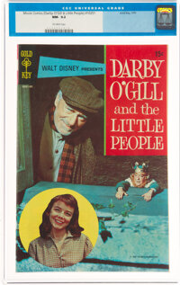 Movie Comics: Darby O'Gill and the Little People (Gold Key, 1970) CGC NM- 9.2 Off-white pages