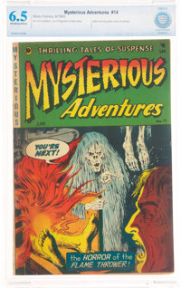 Mysterious Adventures #14 (Story Comics, 1953) CBCS FN+ 6.5 Off-white to white pages