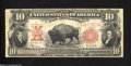 Large Size:Legal Tender Notes, Fr. 122 $10 1901 Legal Tender Note Fine-Very Fine.This is ...
