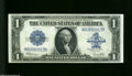 Large Size:Silver Certificates, Fr. 237 $1 1923 Silver Certificate Gem Crisp Uncirculated. ...