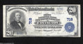 National Bank Notes:Kentucky, Covington, KY - $20 1902 Plain Back Fr. 650 The First NB ...