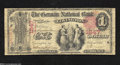 National Bank Notes:Kentucky, Covington, KY - $1 1875 Fr. 384 The German NB Ch. # ...