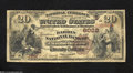 National Bank Notes:Kentucky, Elizabethtown, KY - $20 1882 Brown Back Fr. 518 The ...