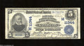 National Bank Notes:Missouri, Kansas City, MO - $5 1902 Plain Back Fr. 606 Fidelity NB ...