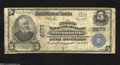 National Bank Notes:Pennsylvania, Brownsville, PA - $5 1902 Plain Back Fr. 609 The Second ...
