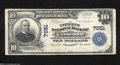 National Bank Notes:Pennsylvania, Lansford, PA - $10 1902 Plain Back Fr. 624 The Citizens ...