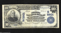 National Bank Notes:Pennsylvania, Meyersdale, PA - $10 1902 Plain Back Fr. 633 The Second ...